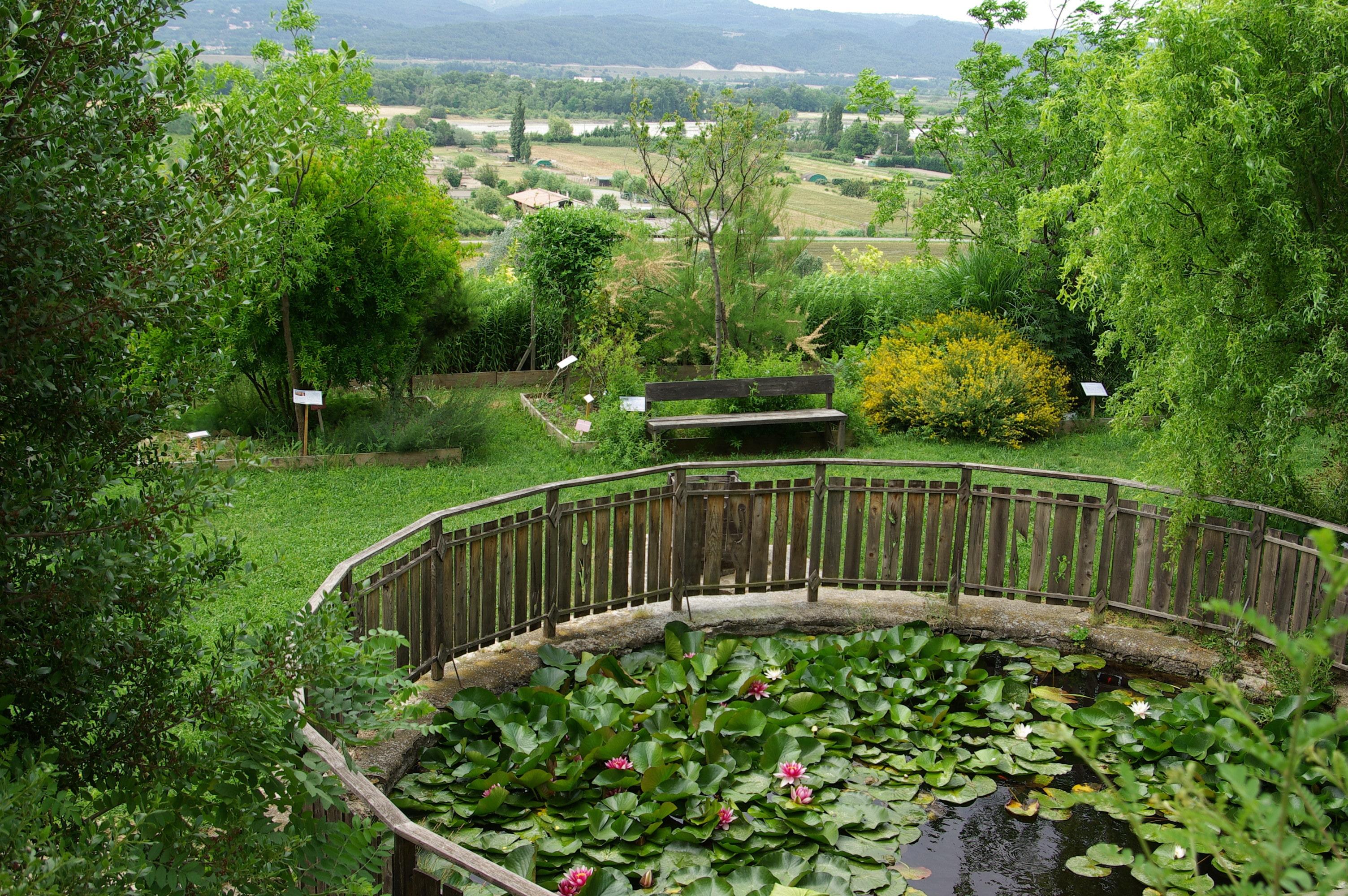 Bassin rond parcs et jardins paca for Bassin de jardin algues vertes
