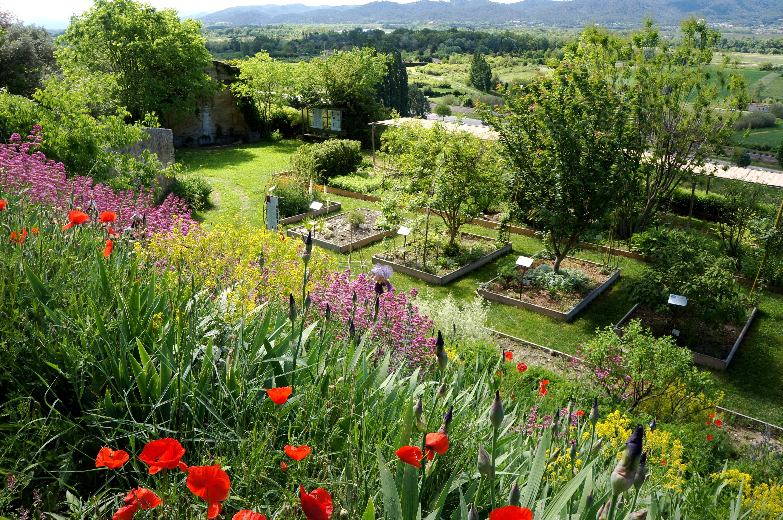 Jardin Conservatoire des Plantes Tinctoriales Parcs et Jardins PACA