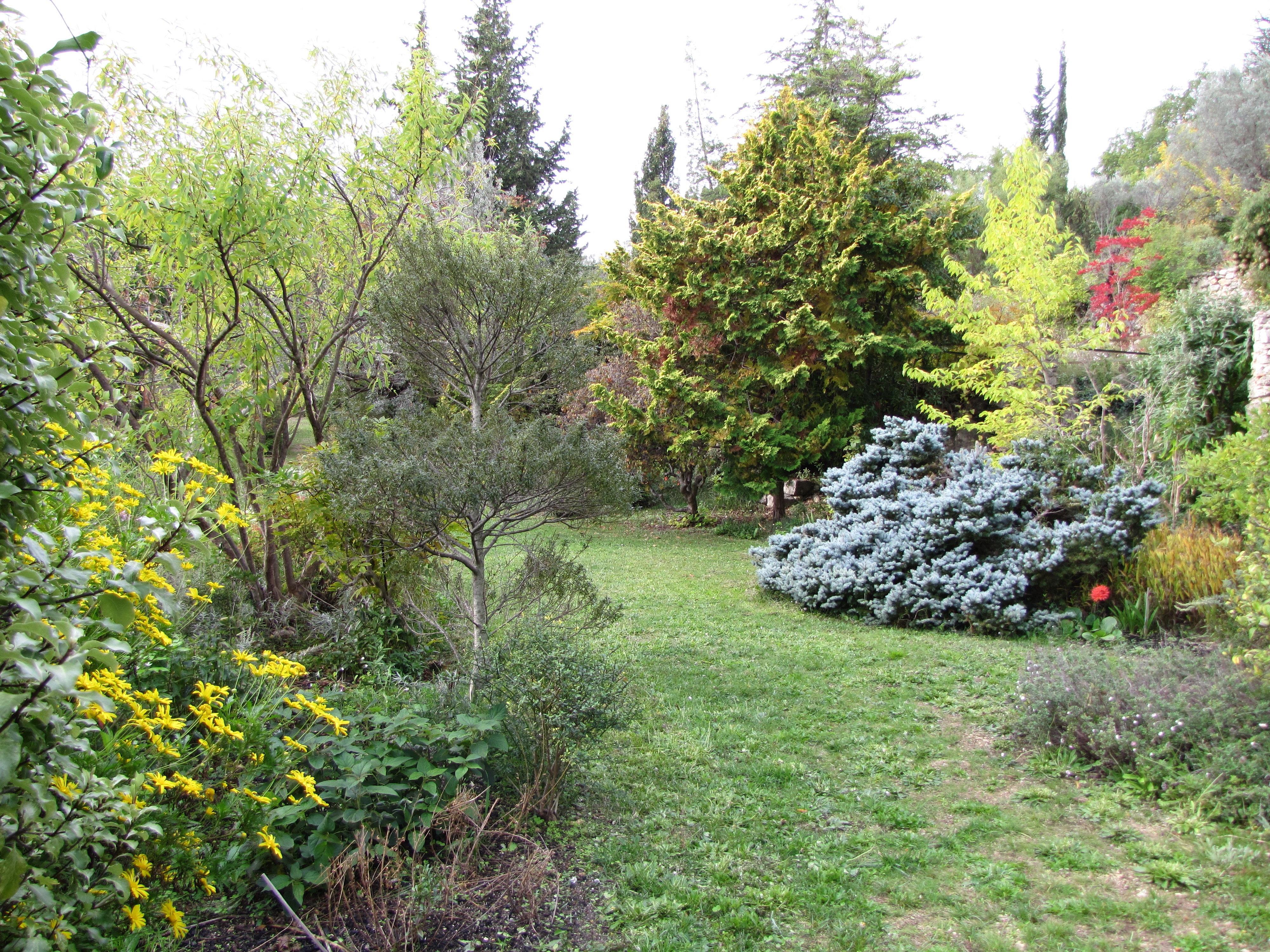 Jardin restanque the visit started at the bottom restanque the first flower bed we came across - Jardin en restanque ...