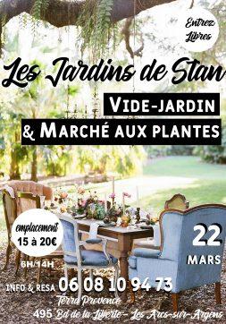 Les Jardins de Stan, pour les passionnés de Jardin et de Brocante : Vide Jardin & Marché Aux Plantes