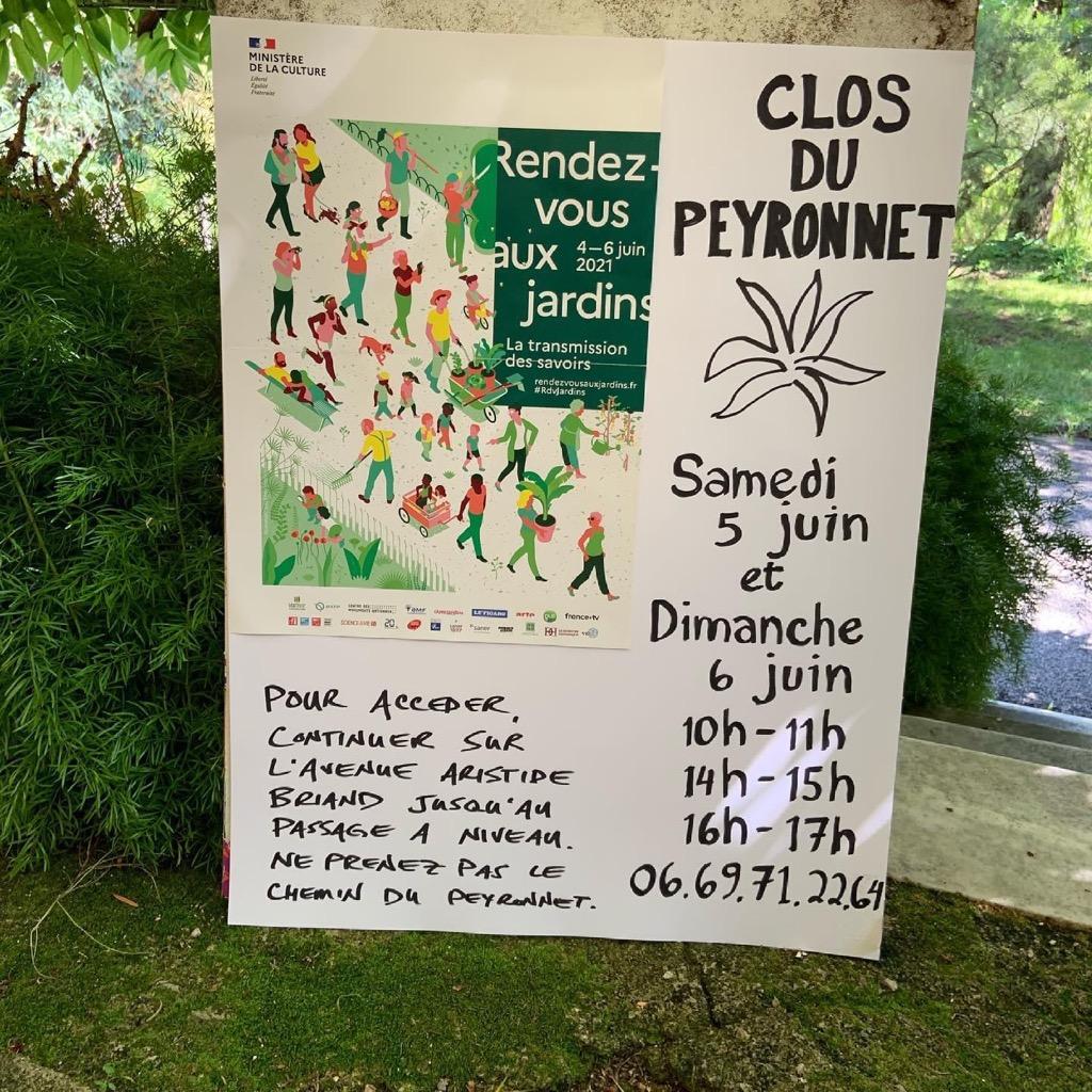 Les Rendez-vous aux Jardins au Clos du Peyronnet